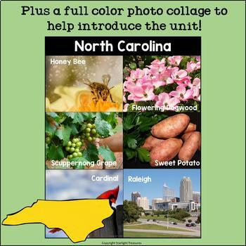 North Carolina Mini Book for Early Readers - A State Study