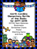 North Carolina  (NC)  Elementary Battle of the Books 2017-2018 Extras