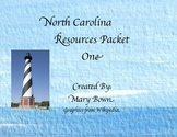 North Carolina Packet (Regions, History, Geography, & Common Core)