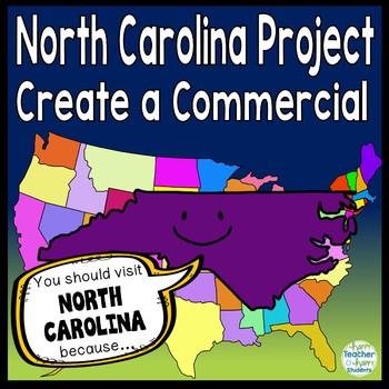 North Carolina Project: Make a Commercial & Poster {North Carolina Research}
