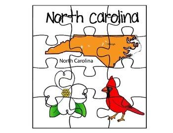 North Carolina Puzzle Set