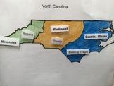 North Carolina Regions Interactive Map