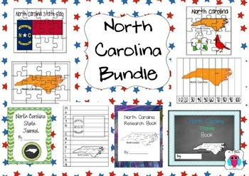 North Carolina Resource Bundle-8 Resources