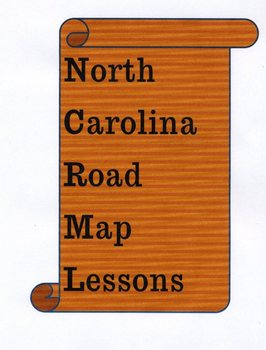 North Carolina Road Map Lessons