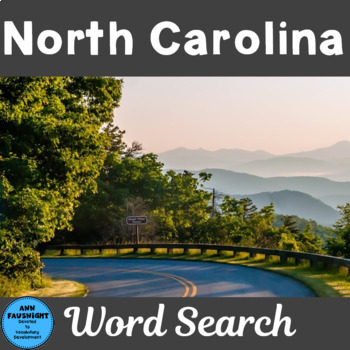 North Carolina Word Search