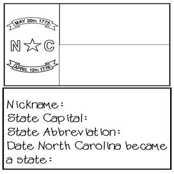 North Carolina Social Studies Unit (No Prep)
