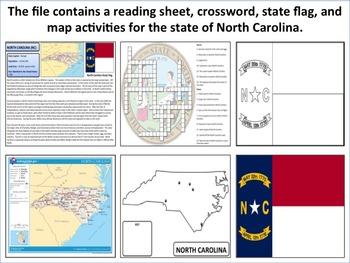 North Carolina - State Activity Set