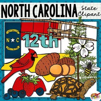 North Carolina State Clip Art