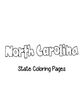 North Carolina State Coloring Pages