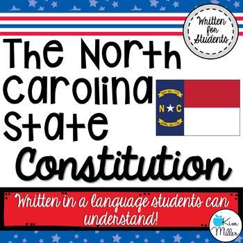 North Carolina State Constitution