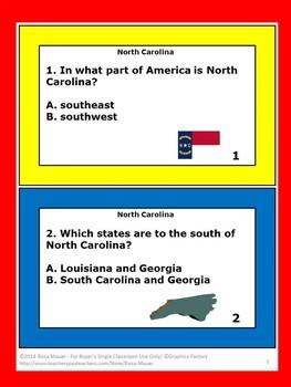 North Carolina Hello USA
