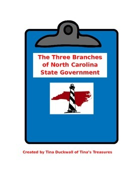 North Carolina State Government (Three Branches)