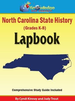 North Carolina State History Lapbook