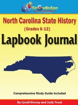 North Carolina State History Lapbook Journal