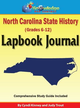North Carolina State History Lapbook Journal