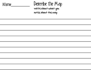 North Carolina State Map Activity Puzzle