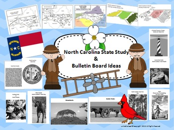 North Carolina State Study & Bulletin Board Set