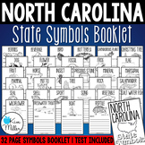 North Carolina State Symbols Booklet & Test
