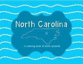North Carolina: State Symbols Coloring Book