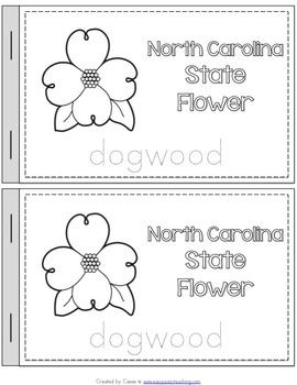 North Carolina State Symbols Notebook
