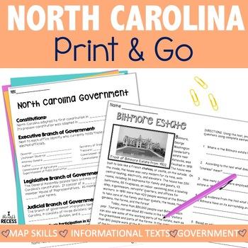 North Carolina Teaching Resources