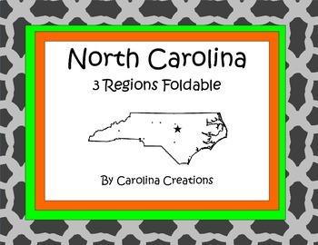 North Carolina Three Regions Foldable Project