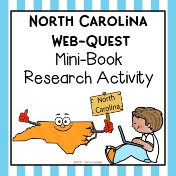 North Carolina Webquest Common Core Research Mini Book