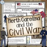 North Carolina and the Civil War Close Reading Activities