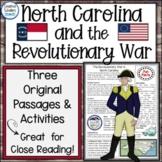 North Carolina Revolutionary War Reading Passages and Lite