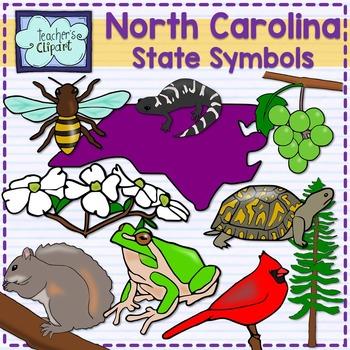 North Carolina State Symbols Clipart By Teachers Clipart Tpt