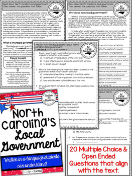 North Carolina's Local Government