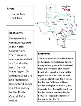 North Central Plains Notes