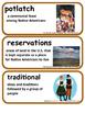 ReadyGen Northwest Coast Peoples Vocabulary 4th grade Unit 2, Module B