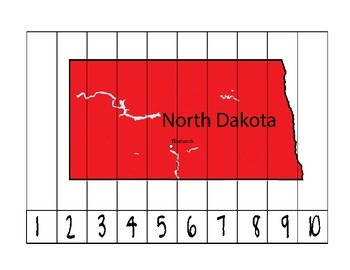 North Dakota Counting Puzzle