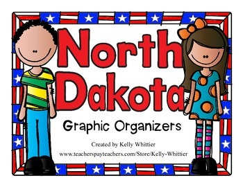 North Dakota Graphic Organizers (Perfect for KWL charts an