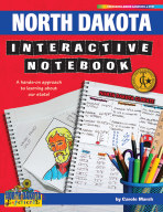 North Dakota Interactive Notebook: A Hands-On Approach to Learning About Our State!