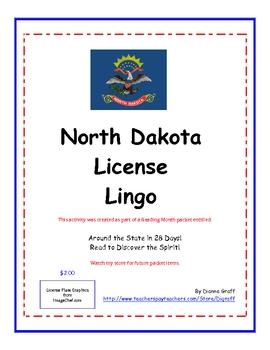 North Dakota License Lingo