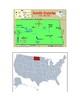 North Dakota Map Scavenger Hunt