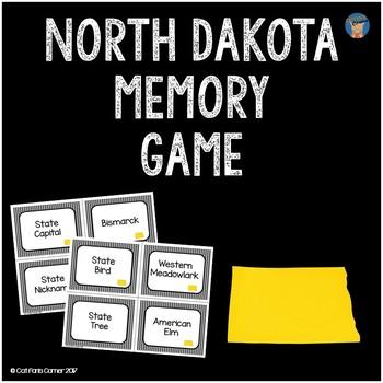 North Dakota Memory Game