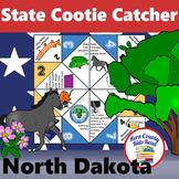 North Dakota State Facts and Symbols Cootie Catcher Distan