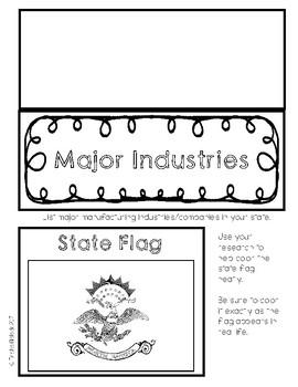 North Dakota State Research Lapbook Interactive Project