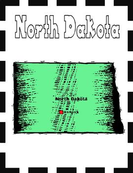 North Dakota State Symbols and Research Packet