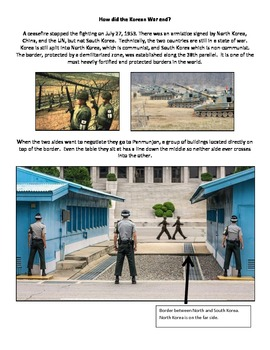 Korean War - North Korea - Nuclear Proliferation