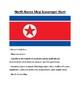 North Korea and South Korea Map Scavenger Hunt Bundle