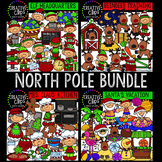 North Pole Christmas Clipart Bundle {Creative Clips Clipart}