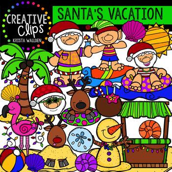 North Pole Christmas Clipart Bundle {Creative Clips Clipart}