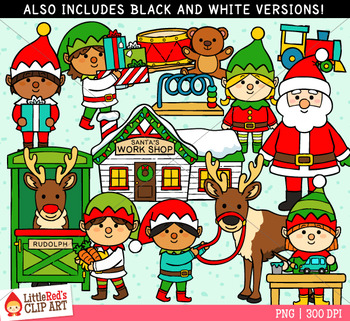 North Pole Christmas Clipart
