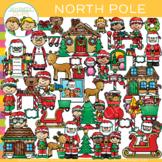 North Pole Christmas Clip Art