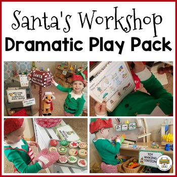 North Pole Dramatic Play Pack for Pre-K, Preschool and Tots