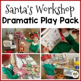 Santa's Workshop Dramatic Play Pack for Pre-K, Preschool and Tots
